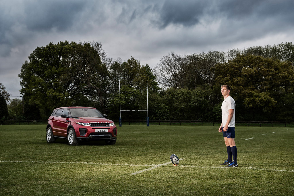 Owen Farrell for Land Rover #1