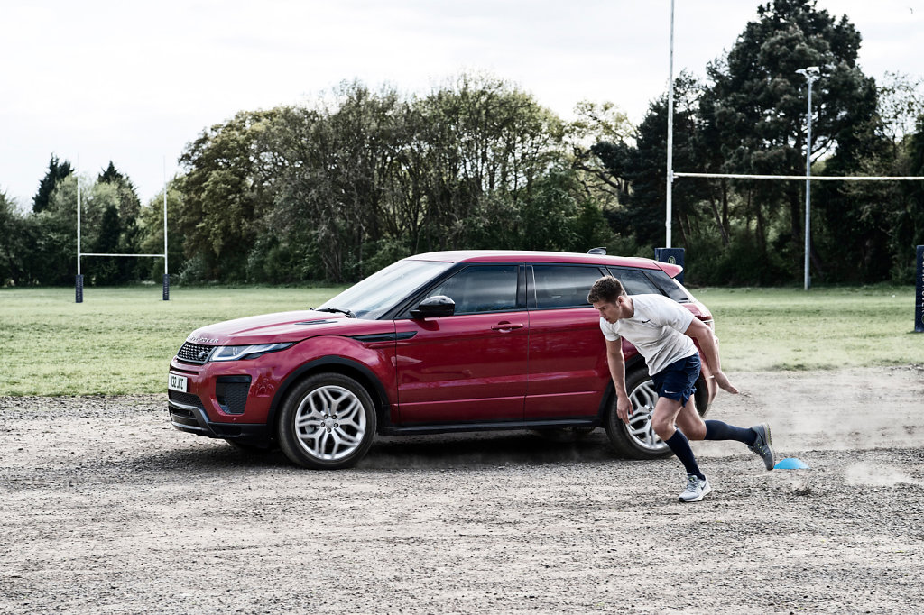 Owen Farrell for Land Rover #3