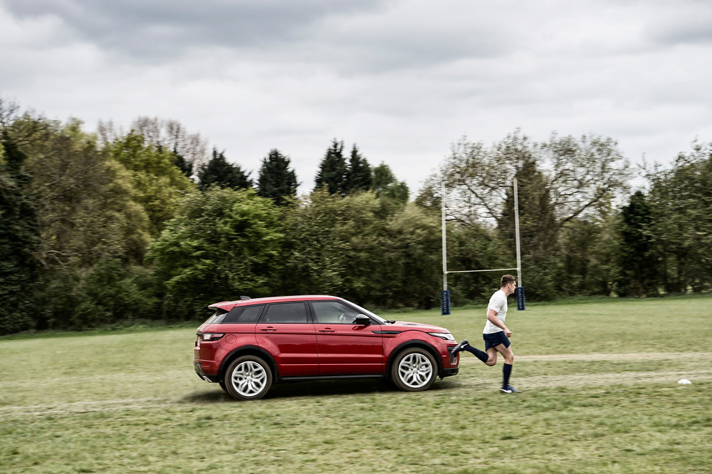 Owen Farrell for Land Rover #5