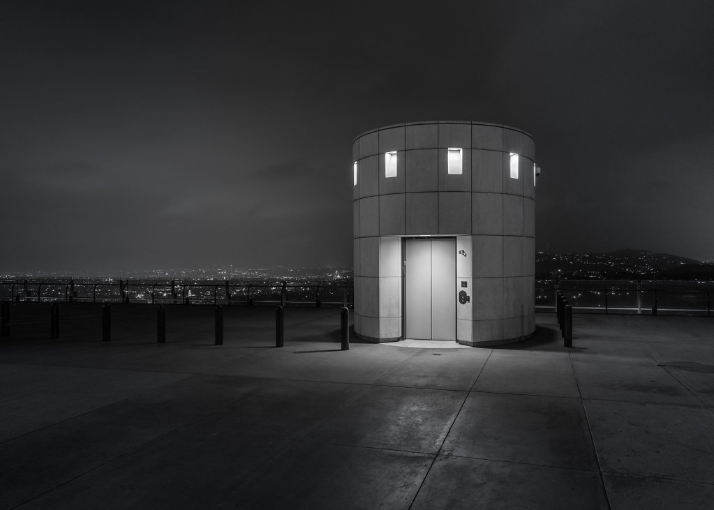 Lift Shaft, Griffith Observatory, Los Angeles