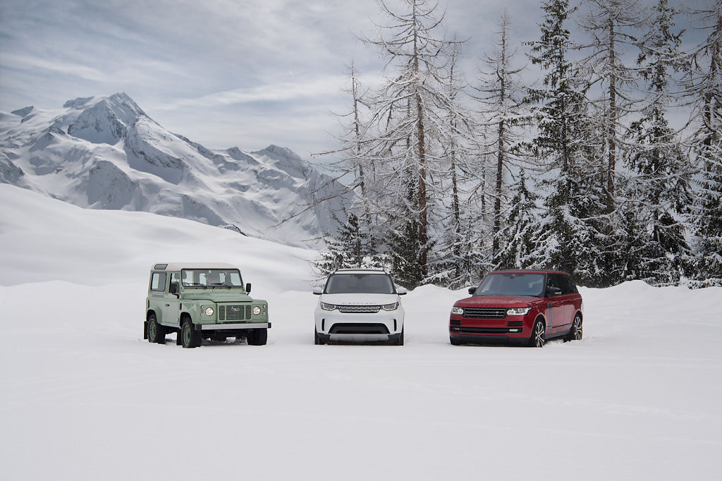 Land Rover, French Alps